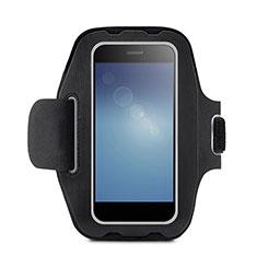 Brassard Sport Housse Universel B08 pour Huawei Enjoy 9 Plus Noir