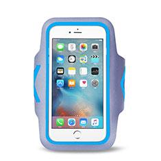 Brassard Sport Housse Universel B15 pour Samsung Galaxy Pocket S5300 Bleu Ciel
