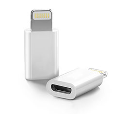 Cable Android Micro USB vers Lightning USB H01 pour Apple iPhone 11 Pro Max Blanc