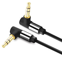 Cable Auxiliaire Audio Stereo Jack 3.5mm Male vers Male A09 pour Huawei Honor Magic 2 Noir