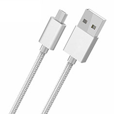 Cable USB 2.0 Android Universel A05 pour Huawei Honor Magic 2 Blanc