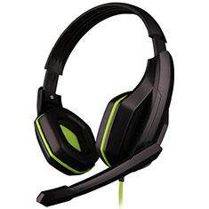 Casque Ecouteur Filaire Sport Stereo Intra-auriculaire Oreillette H51 pour Huawei Mate 30 Vert