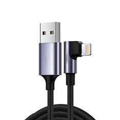 Chargeur Cable Data Synchro Cable C10 pour Apple iPad Pro 12.9 (2020) Noir