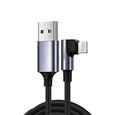 Chargeur Cable Data Synchro Cable C10 pour Apple iPhone 7 Noir