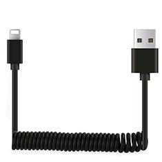 Chargeur Cable Data Synchro Cable D08 pour Apple iPad 10.2 (2020) Noir