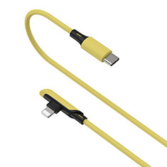 Chargeur Cable Data Synchro Cable D10 pour Apple iPad Mini 5 (2019) Jaune