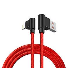 Chargeur Cable Data Synchro Cable D15 pour Apple iPad Mini 5 (2019) Rouge