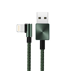 Chargeur Cable Data Synchro Cable D19 pour Apple iPhone 11 Pro Vert