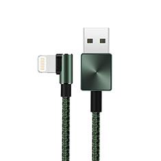 Chargeur Cable Data Synchro Cable D19 pour Apple iPhone 12 Pro Vert