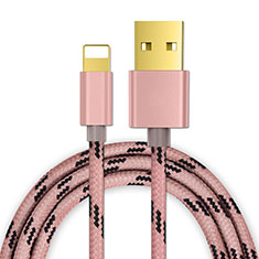 Chargeur Cable Data Synchro Cable L01 pour Apple iPad New Air (2019) 10.5 Or Rose
