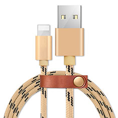 Chargeur Cable Data Synchro Cable L05 pour Apple iPhone 11 Pro Max Or
