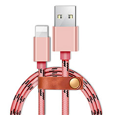 Chargeur Cable Data Synchro Cable L05 pour Apple iPhone 11 Rose