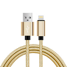 Chargeur Cable Data Synchro Cable L07 pour Apple iPhone Xs Max Or