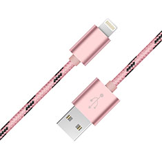 Chargeur Cable Data Synchro Cable L10 pour Apple iPad New Air (2019) 10.5 Rose