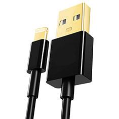 Chargeur Cable Data Synchro Cable L12 pour Apple iPhone 11 Pro Noir