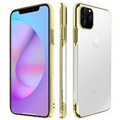 Coque Antichocs Rigide Transparente Crystal Etui Housse H01 pour Apple iPhone 11 Pro Max Or
