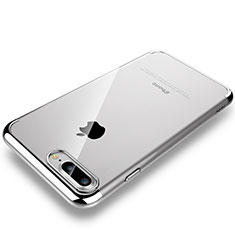 Coque Antichocs Rigide Transparente Crystal Etui Housse H01 pour Apple iPhone 7 Plus Argent