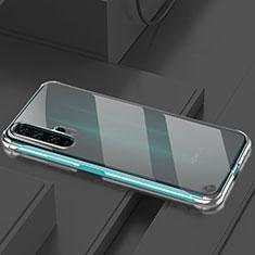 Coque Antichocs Rigide Transparente Crystal Etui Housse H01 pour Huawei Honor 20 Pro Noir