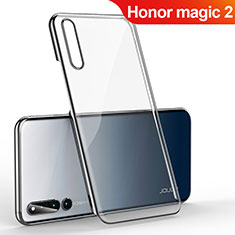 Coque Antichocs Rigide Transparente Crystal Etui Housse H01 pour Huawei Honor Magic 2 Noir