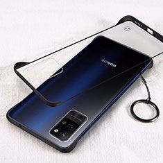 Coque Antichocs Rigide Transparente Crystal Etui Housse H01 pour Huawei Honor Play4 Pro 5G Noir