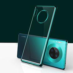 Coque Antichocs Rigide Transparente Crystal Etui Housse H01 pour Huawei Mate 30 5G Vert