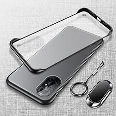 Coque Antichocs Rigide Transparente Crystal Etui Housse H01 pour Huawei Nova 8 Pro 5G Noir