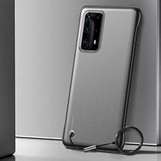 Coque Antichocs Rigide Transparente Crystal Etui Housse H01 pour Huawei P40 Pro+ Plus Noir