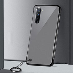 Coque Antichocs Rigide Transparente Crystal Etui Housse H01 pour Oppo Find X2 Lite Noir