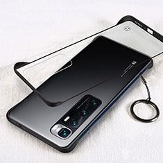 Coque Antichocs Rigide Transparente Crystal Etui Housse H01 pour Xiaomi Mi 10 Ultra Noir