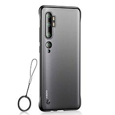 Coque Antichocs Rigide Transparente Crystal Etui Housse H01 pour Xiaomi Mi Note 10 Pro Noir