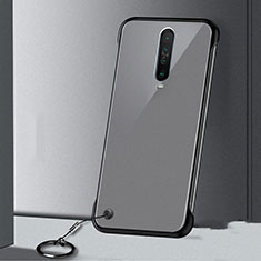 Coque Antichocs Rigide Transparente Crystal Etui Housse H01 pour Xiaomi Poco X2 Noir