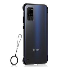 Coque Antichocs Rigide Transparente Crystal Etui Housse H02 pour Huawei Honor Play4 Pro 5G Noir