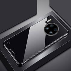 Coque Antichocs Rigide Transparente Crystal Etui Housse H02 pour Huawei Mate 30 5G Noir