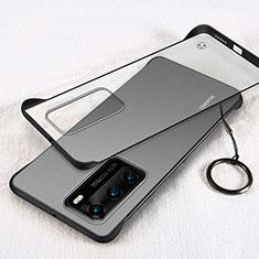 Coque Antichocs Rigide Transparente Crystal Etui Housse H02 pour Huawei P40 Noir
