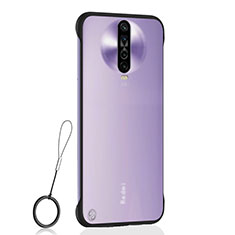 Coque Antichocs Rigide Transparente Crystal Etui Housse H02 pour Xiaomi Poco X2 Noir