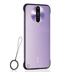 Coque Antichocs Rigide Transparente Crystal Etui Housse H02 pour Xiaomi Redmi K30 4G Noir