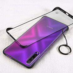 Coque Antichocs Rigide Transparente Crystal Etui Housse H03 pour Huawei Honor 9X Pro Noir