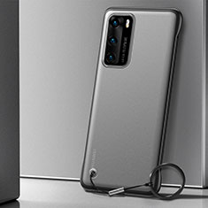 Coque Antichocs Rigide Transparente Crystal Etui Housse H04 pour Huawei P40 Noir