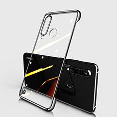 Coque Antichocs Rigide Transparente Crystal Etui Housse S01 pour Huawei P30 Lite Noir