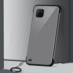 Coque Antichocs Rigide Transparente Crystal Etui Housse S01 pour Huawei P40 Lite Noir