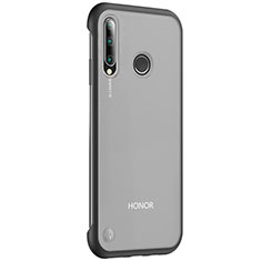 Coque Antichocs Rigide Transparente Crystal Etui Housse S02 pour Huawei Honor 20 Lite Noir