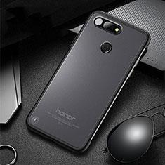 Coque Antichocs Rigide Transparente Crystal Etui Housse S03 pour Huawei Honor View 20 Noir