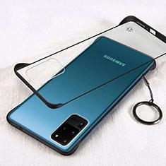 Coque Antichocs Rigide Transparente Crystal Etui Housse S03 pour Samsung Galaxy S20 Ultra 5G Noir