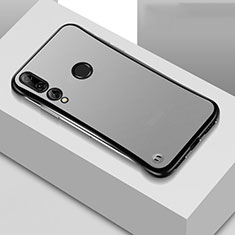 Coque Antichocs Rigide Transparente Crystal Etui Housse S04 pour Huawei Honor 20 Lite Noir