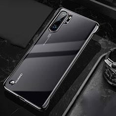 Coque Antichocs Rigide Transparente Crystal Etui Housse S04 pour Huawei P30 Pro Noir