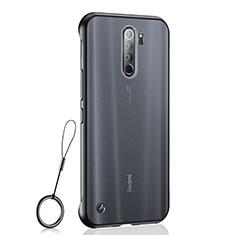Coque Antichocs Rigide Transparente Crystal Etui Housse S04 pour Xiaomi Redmi Note 8 Pro Noir