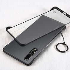 Coque Antichocs Rigide Transparente Crystal Etui Housse S05 pour Huawei P20 Pro Noir