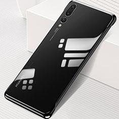 Coque Antichocs Rigide Transparente Crystal Etui Housse S06 pour Huawei P20 Pro Noir