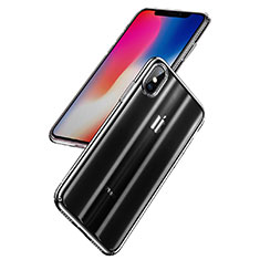 Coque Antichocs Rigide Transparente Crystal H01 pour Apple iPhone X Clair
