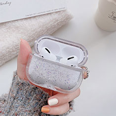 Coque Antichocs Rigide Transparente Crystal pour Apple AirPods Pro Noir